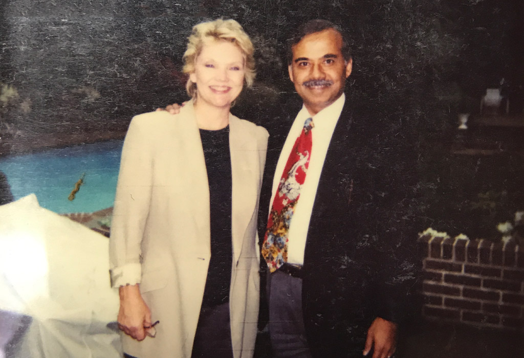 Kenny with Erika Slezak Davies, TV Serial: One Life to Live